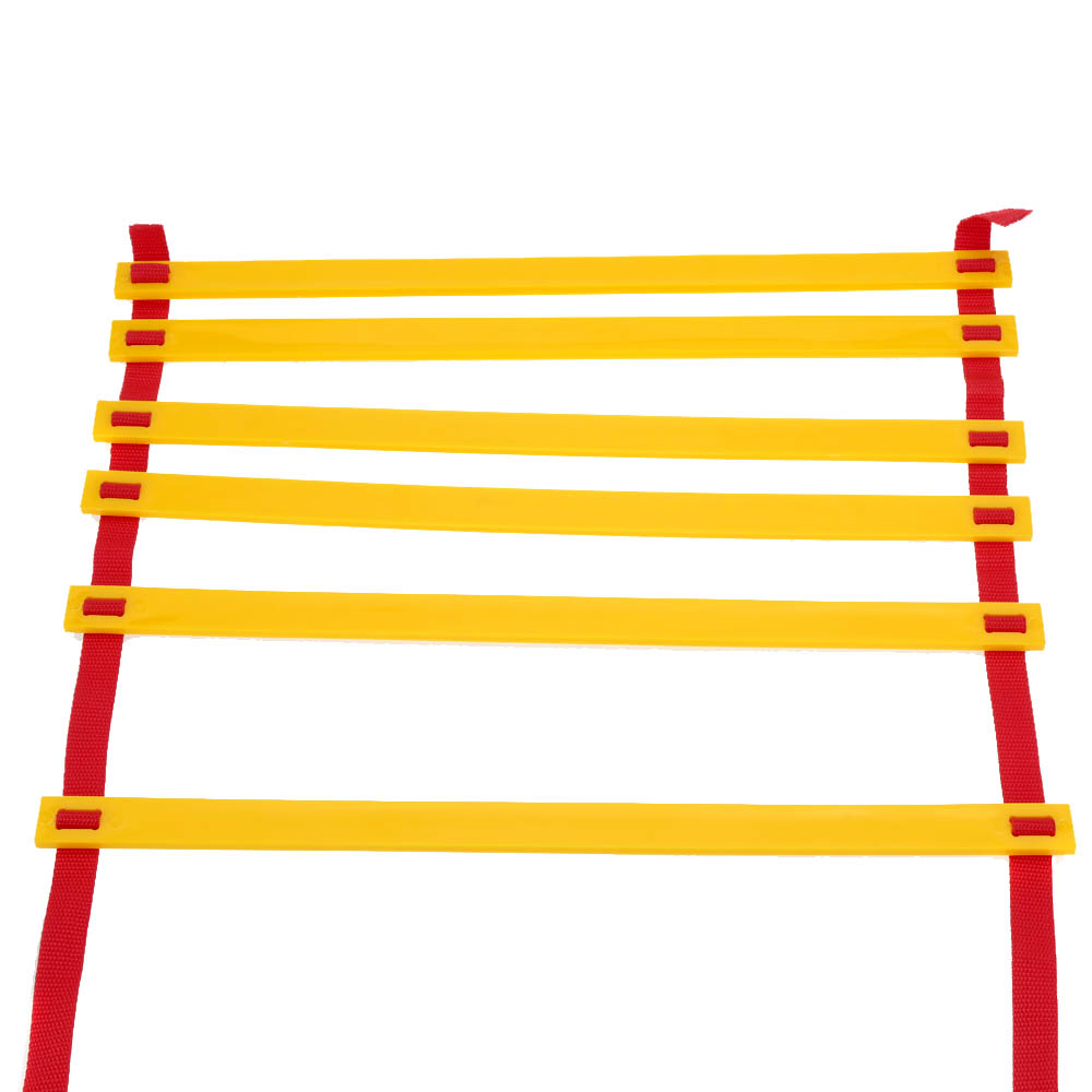 Top Quality 3.1M (10.2 feet) * 6 Rungs Long Soccer Training Speed Agility Ladder + Carry Bag Outdoor Fitness Equipment Ladder(China (Mainland))