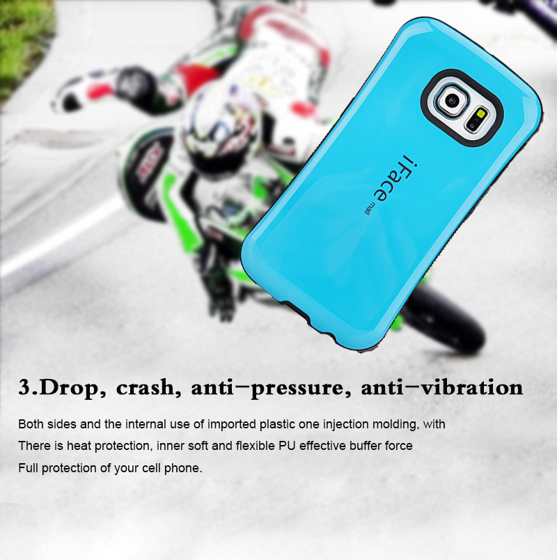 2015 Hybrid slim Armor For Samsung Galaxy S6 Edge PLUS G9200 case Dual layer Back S7 Edge Cover moblie phone bags Full tough(China (Mainland))