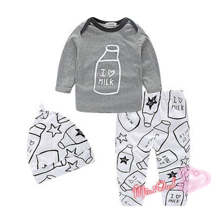 2016 Autumn baby boy clothing set cotton long-sleeved letter T-shirt+ trousers 2pcs newborn baby boy clothes set Children Set(China (Mainland))