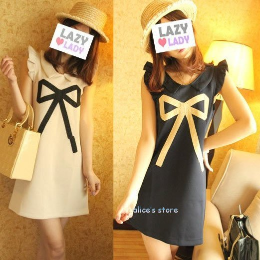 2012 new fashion sexy queen chest bow dress
