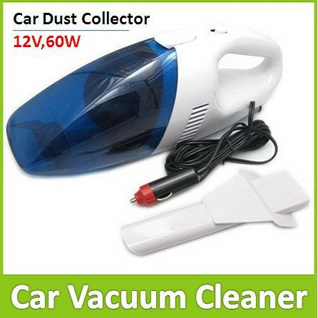 Mini Handheld Car Vacuum Cleaner 12V 60W Dust Collecter(China (Mainland))