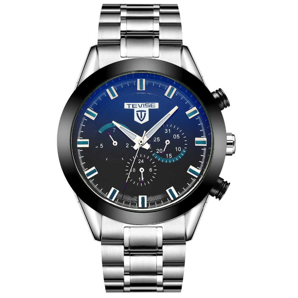 casual men watch TEVISE mechanical Automatic Men's Watches steel waterproof fashion man Wristwatches clocks relogio hommer(China (Mainland))