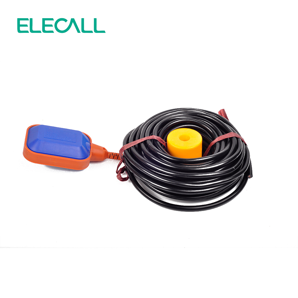 ELECALL EM15-2A 15m Controller Float Switch Cable Liquid Fluid Water Level Float Switch Controller Contactor Sensor(China (Mainland))