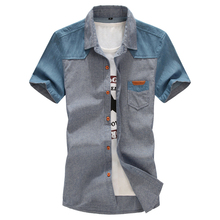 2015 new arreival summer casual male short-sleeve shirt men's extra large plus size M L XL XXL 3XL 4XL 5XL 6XL 7XL 8XL 9XL 10XL(China (Mainland))