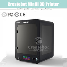Высокая точность и высокая эффективность Createbot мини 3D принтер как с сенсорным экраном и Heatbed бесплатная доставка