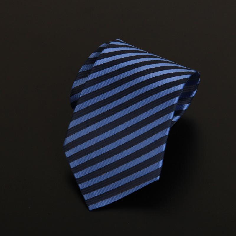 New Fashion Formal Men s Business suit Neck ties Plaid Straiped Neck tie Skinny Male Gravata
