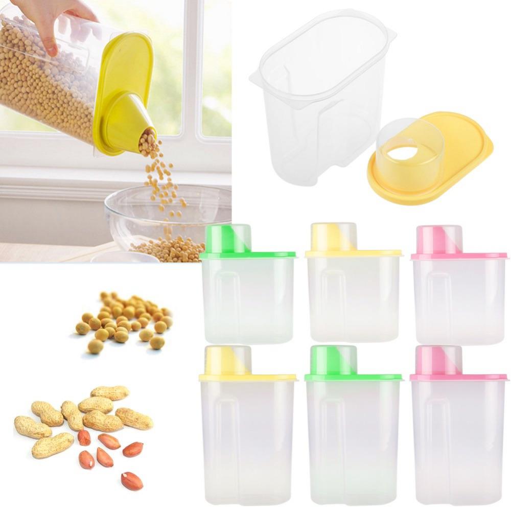 MC40 Food Rice Grain Storage Containers Box Bin Kitchen NEW Antibacterial Grains Canister Storage Barrel(China (Mainland))