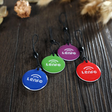 Top Sale (4pcs) NFC Smart Tags Waterproof Label (NTAG203) & Compatible with All Others nfc Rfid Android Phone,Free shipping(China (Mainland))