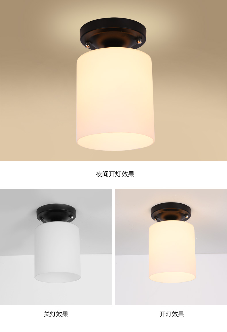 Entzuckend A1 Flower Type The American Village Living Room Pendant Lights  Study Hallway Modern Minimalist Bedside