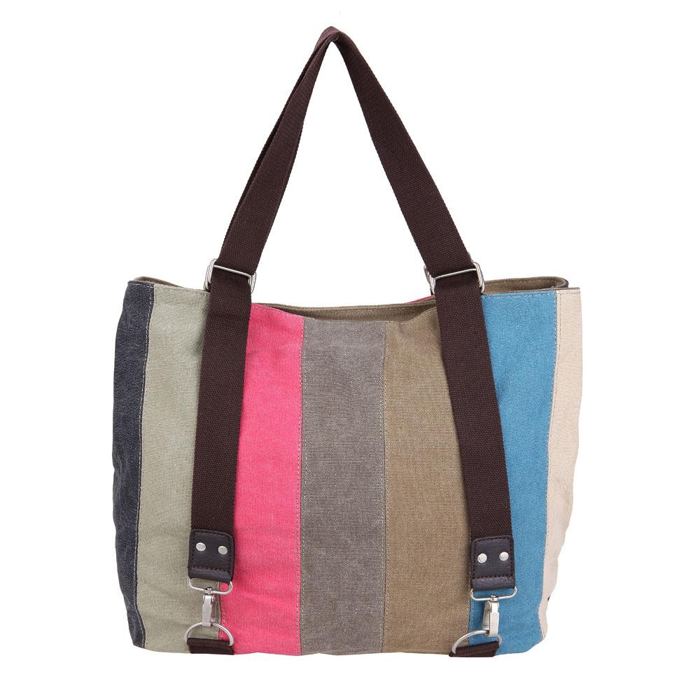 2015 New Female Han Edition Retro Bag Package Single Shoulder Handbag Rainbow - EloveJ store