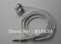 Hot! Free Shipping High-quality colorful EX-088 all-metal-ear Earphone for ipod MP3 earphones Headsets with leather bag