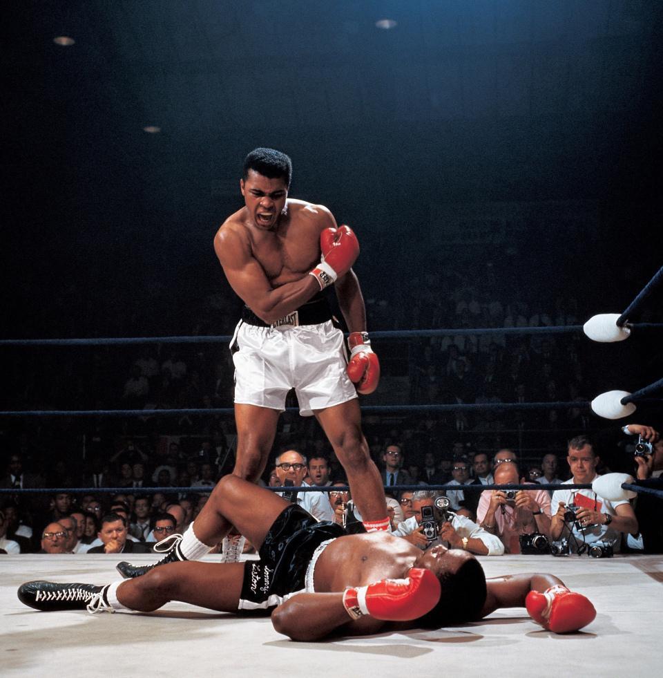 Aliexpress com  Koop p0413 neil leifer muhammad ali de koning van het boksen gevechten ko poster