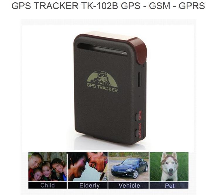 GPS GSM Mini TK102B Car Vehicle Tracker For Child Vehicle Pet Bike Motorcycle Realtime UK Charger MA040K(China (Mainland))