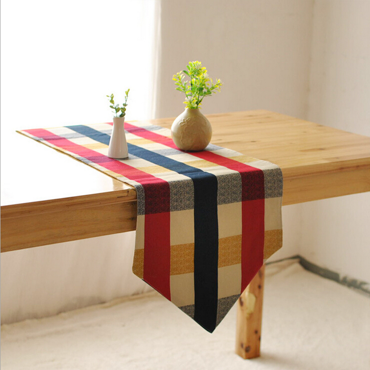 Pattern Table Runner Coffee Tea TV Cover Cloth Hotel Dining Room Table
