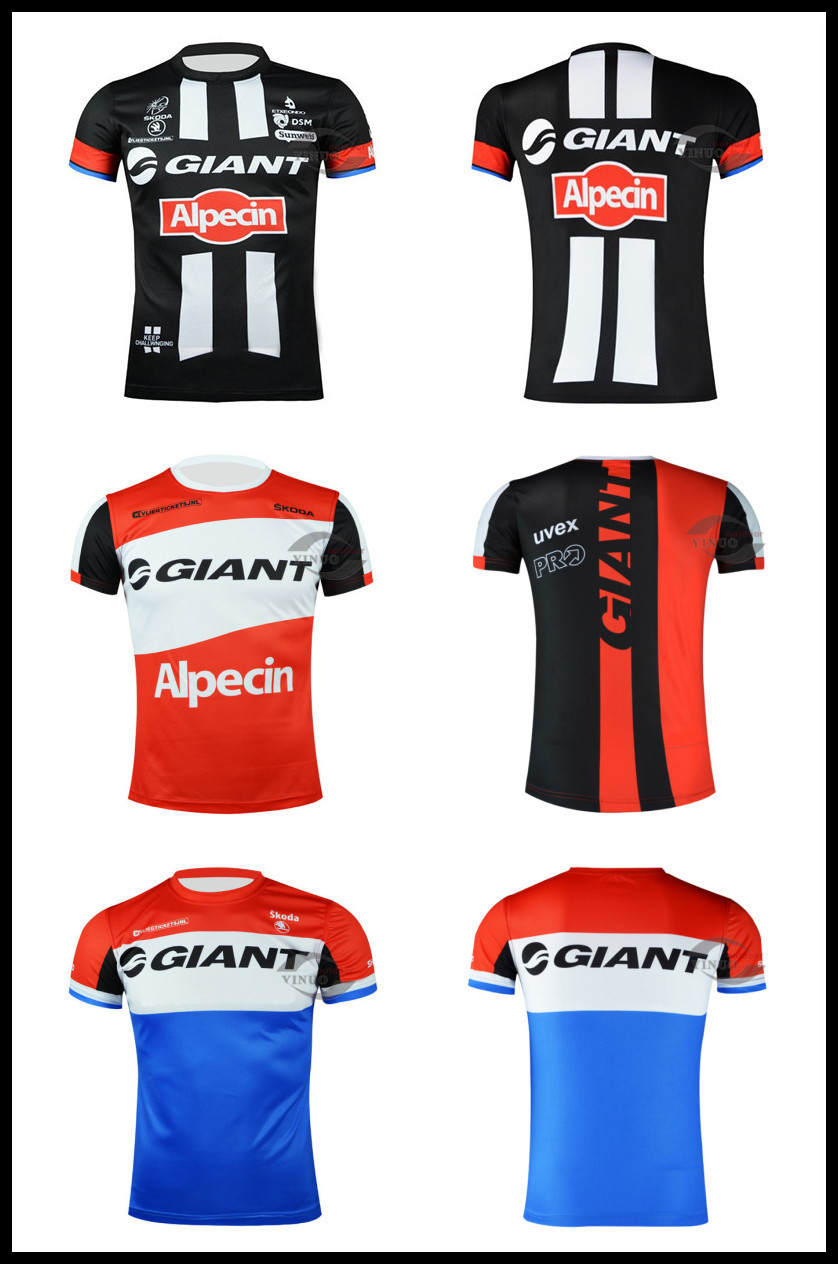 2015 High Quality Italy imported ink TEAM GIANT cycling T-shirts Short Sleeve T-Shirt S-3XL new Style Cycling Men's Tee Shirts(China (Mainland))