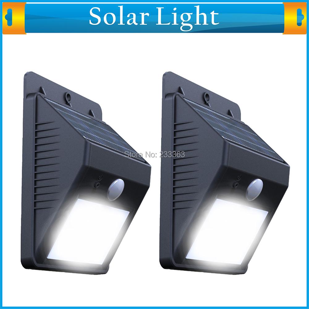 Solar motion lamp wall mounted ray pir motion sensor - Lamparas solares de led ...