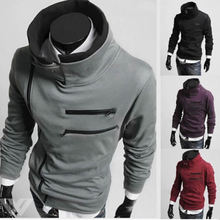 Hot fashion sports font b hoodie b font assassin causal parkour skateboarding new clothing Trandy stand