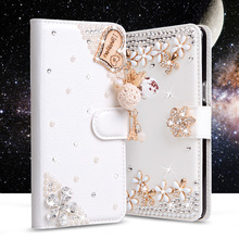 Buy Bling Rhinestone cases LG Magna C90 H520N H502F H500F G4C G4 Mini H525N Wallet PU Leather Cover Filp Stand Diamond Phone Bag for $7.57 in AliExpress store