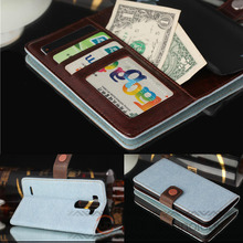 1pcs/lot luxury wallet flip leather case cover case for Lg G3 mini G3 S D722 D728 D724 case cover bag with credit card holder