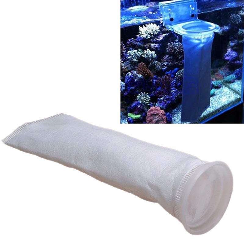 150 um micron aquarium pre fish fish tank filter sock for Fish pond filter mesh