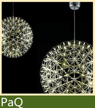 Moooi Raimond Suspens led chandeliers lamp Sparks Planet lamps 38cm/45cm big ball pendant 42 led light fixture(China (Mainland))
