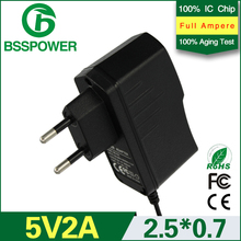 Tablet PC charger 5 v 2a power supply adapter 2000mA adaptor(China (Mainland))