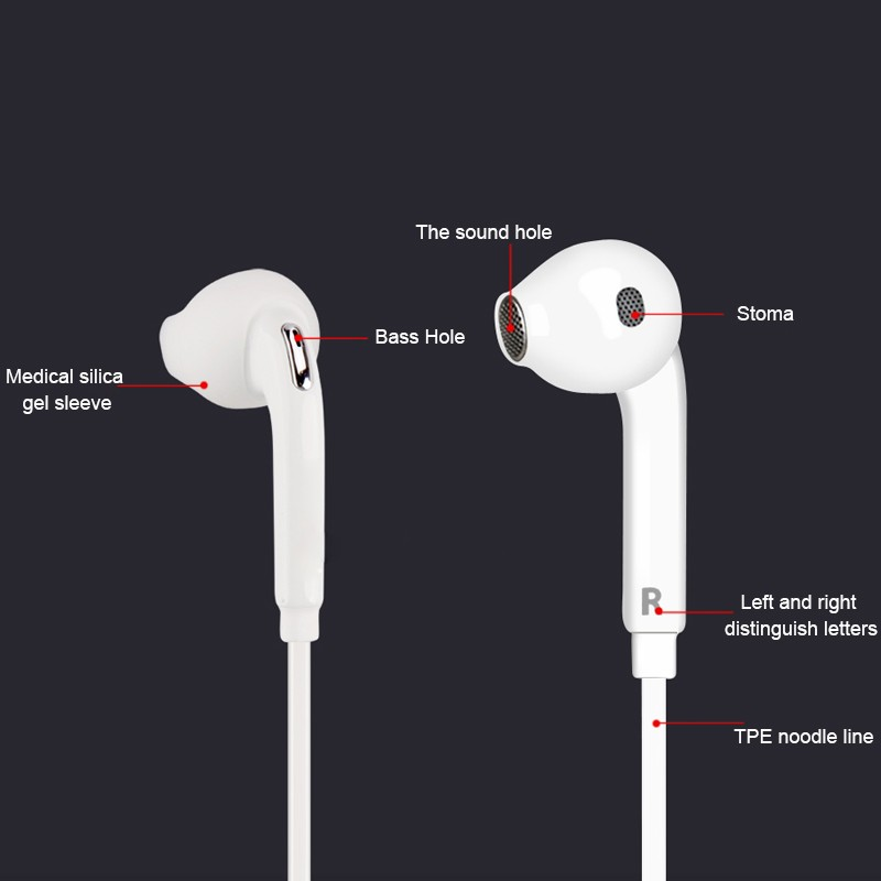 Super Basss Earphones Mini Wired Earphone Headphone Headset 3.5mm Stereo Music Sports Earphone Microphone For Xiaomi Samsung PC
