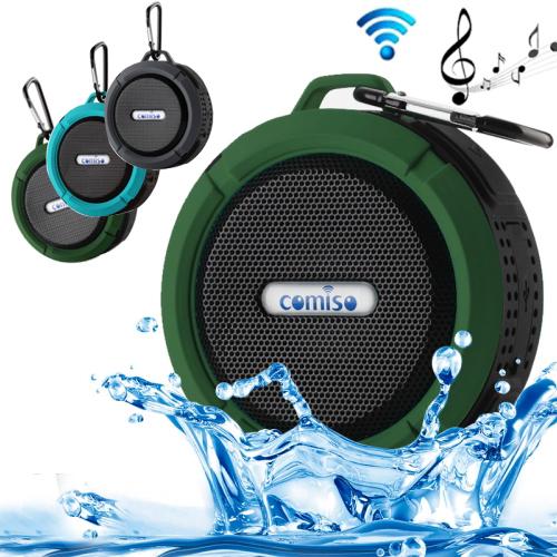 Free Shipping C6 Portable Wireless Bluetooth Speaker Waterproof,IP 65 Waterproof Wireless Portable Mini Speaker Bluetooth 2015<br><br>Aliexpress