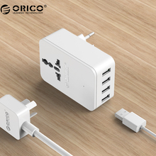 Buy ORICO USB Charger 20W Universal Power Plug iPhone 7 Travel Converting Adapter Surge Protector 4 USB Charging Ports, S4U for $9.99 in AliExpress store
