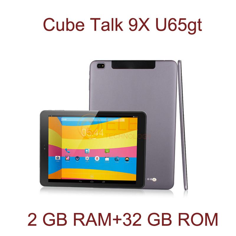 """3G WCDMA phone call tablet pc 9.7"""" Cube TALK 9X U65GT MT8392 Octa Core 2GB 32GB bluetooth GPS 2048*1536  IPS Cube TALK9X(China (Mainland))"""