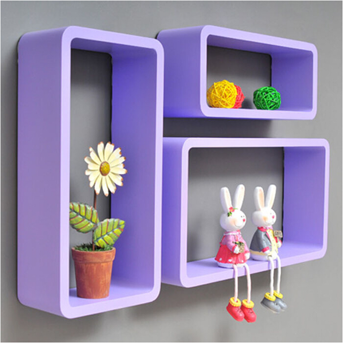 Permalink to wooden wall shelves in pink doll house design