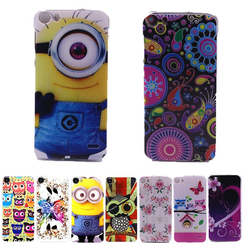 DOOGEE F3/ F3 PRO Case Cover Colored Paiting capa FOR /F3 coque wtith phone stent gift - Boy-Technology Co., Ltd store