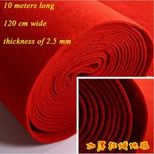 wholesale red carpet wedding decoration disposable thick carpet for opening ceremony wedding tapetes de sala 1.2m*10m/roll(China (Mainland))