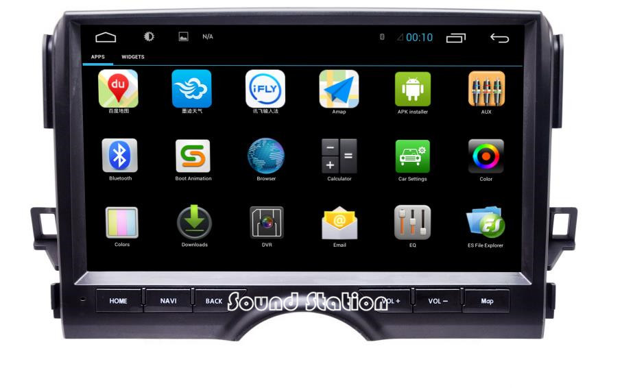 For Toyota Reiz 2012 2013 2014 2015 Touch Screen Android 4.2.2 Car Media Radio Stereo GPS Navigation Sat Navi Multimedia System(China (Mainland))