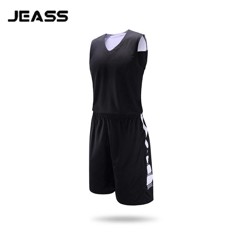 JEASS 2016 Men Basketball Team Jersey Custom Basketball Uniform Kit Breathable Training Suit baloncesto Jerseys basquetball Sets(China (Mainland))