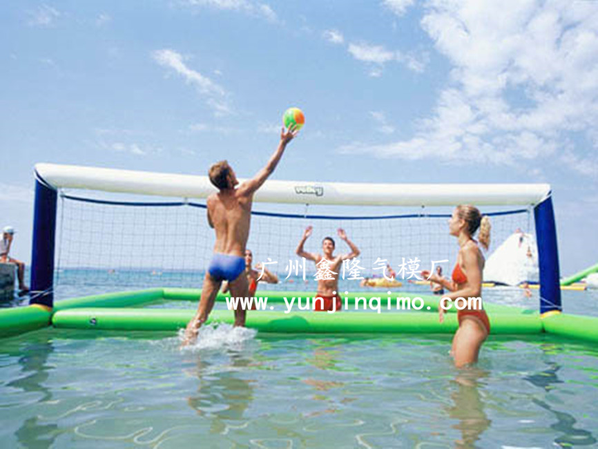 Inflatable water football field inflatable water volleyball pool inflatable water park inflatable water toys(China (Mainland))