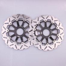 Buy Front Brake Discs Rotor Honda CBR600 F3 1995 1996 1997 1998 95 96 97 98 CBR 900RR 893 1994 1995 1996 1997 94 95 96 Black for $299.00 in AliExpress store