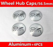 Buy 4pcs 56.5mm Emblem Badge Sticker Wheel Hub Caps Centre Cover OZ Racing Silver Black Word for $3.90 in AliExpress store