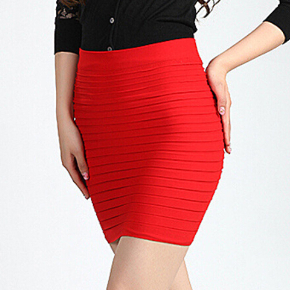 Short Red Pencil Skirt | Jill Dress