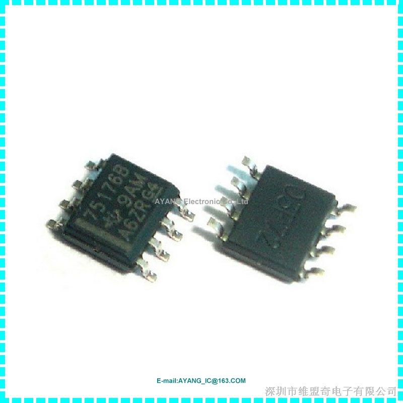 New 100pcs/bag SN75176BDR IC DIFF BUS TXCVR 8-SOIC(China (Mainland))