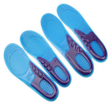 New Design Women Massaging Gel Orthotic Insole Work Boots Heel Pain And Plantar Fasciitis(China (Mainland))
