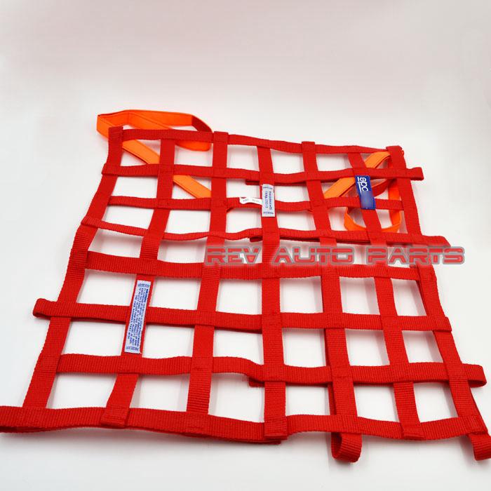 Red / Blue 20''x17'' Nylon Car Racing Rally Race Safety Window Net Ribbon(China (Mainland))