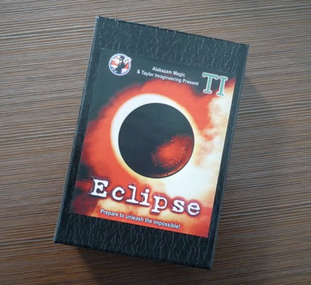 The most popular magic coin mentalism magic trick - Eclipse, mache mask,magic tricks,fire,props,dice magic,comedy<br><br>Aliexpress