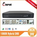 KEEPER Promotional AHD M 1080N H 264 HDMI Security System CCTV DVR 8 Channel Mini DVR