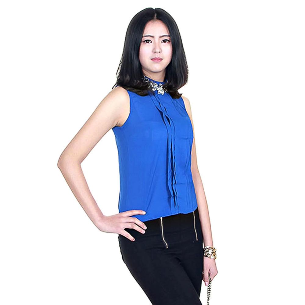 New Korea Blouses Shirts Women Summer Plus Size Rhinestone