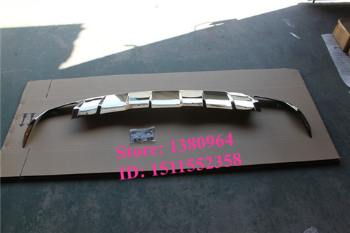 bumper board skid plate for stainless steel Mercedes Benz W251 R280 R320 R350 R500(China (Mainland))
