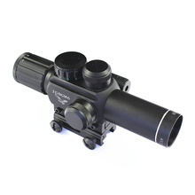 M6 Cheap price hunting scope for rifle discount 4x25 night vision with red dot laser sight for riflescope hot sale(China (Mainland))