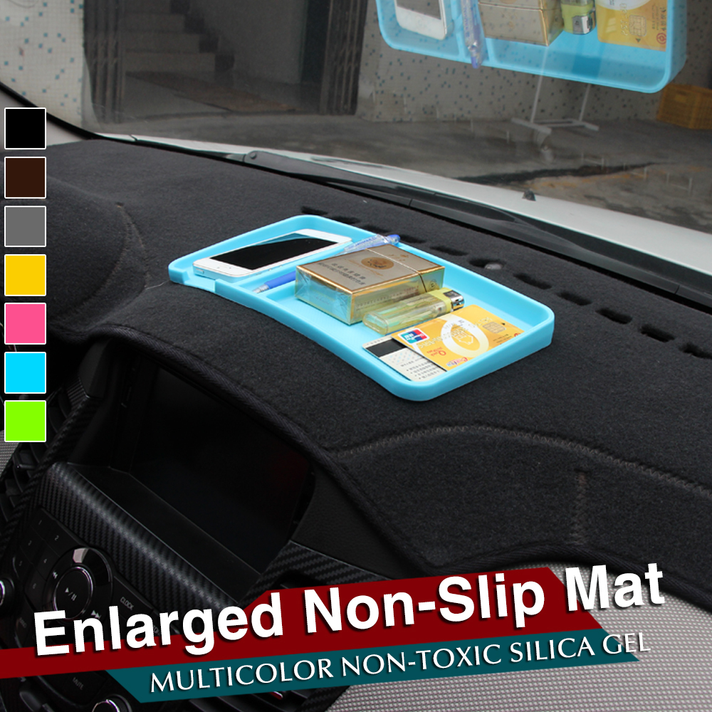 hot sale Universal Car Super Sticky Pad Anti-slip Mat For Chevy Astro Camaro Cruze Equinox HHR Impala Malibu Spark Tahoe all car(China (Mainland))