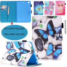 New for Ipad Mini Cover Kids Flip Wallet PU Leather Case For Apple Ipad Mini 2 / Mini 3 / Mini1 Stand Small Card / Stylus Holder(China (Mainland))