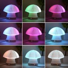 New Mini Cute LED Light Desk Umbrella Speaker Music Player Decoration Lamp Wholesale(China (Mainland))